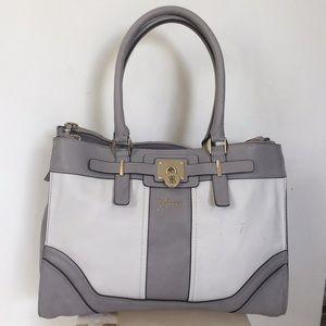 Guess gray tote bag